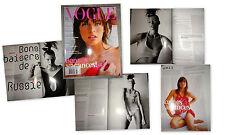 Vintage clippings  Milla Jovovich by Mario Testino French Vogue Paris 2003 elle