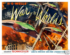 THE WAR OF THE WORLDS LOBBY CARD POSTER HS-B 1953 GENE BARRY ANN ROBINSON