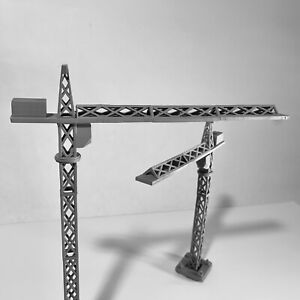 N Scale Scenery 1:160 Tower Crane, Resin printed, Gray primed