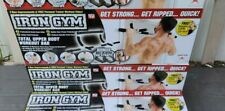 Iron Gym UPPER BODY HOME WORKOUT DOOR MOUNT CHIN PULL UP BAR BRAND NEW IN BOX