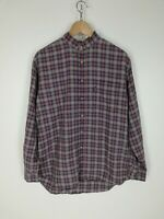 BARBOUR Camicia Shirt Maglia Chemise Camisa Hemd Tg L Uomo Man