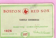 1977 Tigers Pass Ticket Al Trammel First Hit Debut/R.Jackson/B. Martin Fight