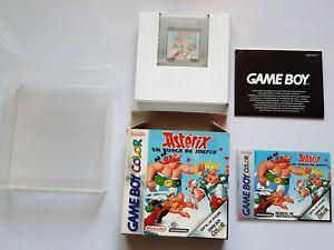 ASTERIX en busca de IDEFIX NINTENDO Game Boy Color pal ESPAÑA COMPLETO+REGALO.