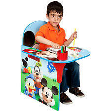 Kids Chair Desk Disney Mickey Mouse Play Table Seat Storage Toddler Furniture