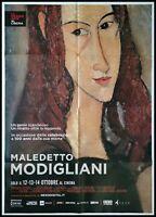 MALEDETTO MODIGLIANI Manifesto Arte 2F Poster Film Original Cinema
