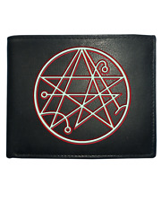 SIGIL OF THE GATEWAY CTHULHU SYMBOL- Lovecraft mythos inspired  leather Wallet
