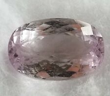 *US***SELLER* Natural Pink Kunzite 11.28 Ct Afganistan Unheated Oval Shape Gem