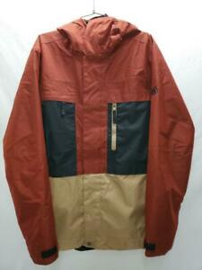 686 Smarty 3N1 Form Mens Snow Ski Snowboard Jacket Rusty Red Melange Large NEW