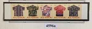 US 2012. Aloha Shirts. .  Sc#4596a. Strip of 5.  MNH.
