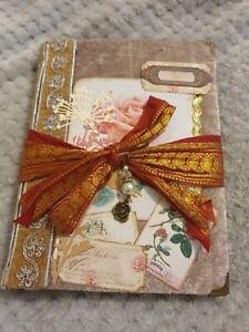 Pretty Handmade Rose Journal