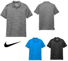 Men'S Nike Dri-Fit, Short Sleeve, Wave, Lightweight, Jacquard Polo Shirt, Xs-4Xl