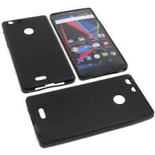 Case for Archos 55 Diamond Selfie Cell Phone Pocket Cases TPU Rubber Black