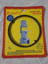 """Northern Supercut Carbon Replacement Band Saw Blade-128-1/4"""" L * 1/4"""" W NEW"""