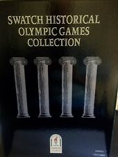 SWATCH HISTORICAL OLYMPIC GAMES  COLLECTION 1996 ATLANTA + 3 ESCLUSIVI PINS
