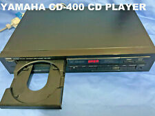 Vintage YAMAHA CD-400_Compact Disk Player (1986)_Black_Collectable_Used