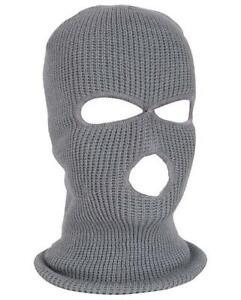 3 Hole Balaclava Hood Cap Full Face Cover Hat Windproof Warm Ski Cycling Outdoor