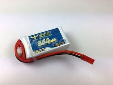 COPTERX 250 Drone 850mAh 11.1V 3Cell 50C T-Rex 250 Helicopter LiPo Battery w/JST