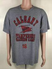 Vintage 90s Mens Calgary Canada Stampeders Training Camp Single-Stitch TShirt XL