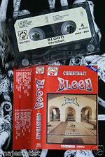 BLOOD - Christbait MC RARE POLISH PRESS 1992
