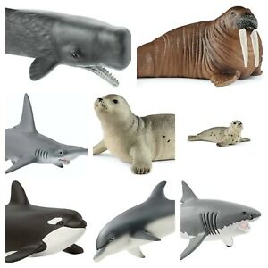 Schleich Sea Animals  Schleich Deal Whale Orca Walrus Choice of Ocean Figures
