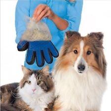 True Touch Deshedding Brush Glove Pet Dog Cat Gentle Efficient Massage Grooming