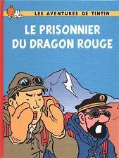 Tintin PASTICHE. Le Prisonnier du Dragon Rouge. Cartonné 24 pages n/blanc.