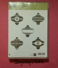 Stampin Up CHRISTMAS COLLECTIBLES ornaments holiday wood NEW (1513)
