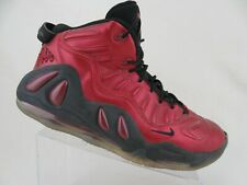 NIKE Air Max Uptempo 97 Red Sz 13 Men Basketball Shoes