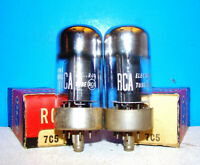 7C5 RCA loctal vacuum tubes 2 valves NOS radio audio guitar amplifier tested 7C5