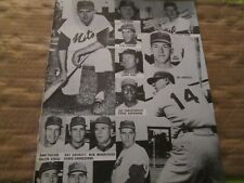 JKW 1962,63 New York Mets CHACON, COLEMAN, HODGES, HOOK