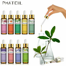 PHATOIL 10ml Pure Essential Oil Natural Aromatherapy Diffuser Oil with Dropper