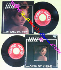 LP 45 7''PATTY BRARD Woman in love Mistery theme 1985 italy STRIPED no cd mc*dvd