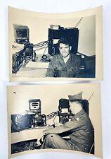 US Army Photo Korea Era Soldiers in Nellingen Germany Communication equipment