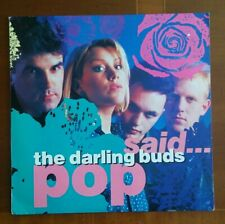 "THE DARLING BUDS: ""Pop Said"" 1988 CBS LP VG++"