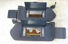 2000-2005 IMPALA MONTE CARLO BLUE LIGHTED MIRROR SUN VISOR SET LEFT & RIGHT SIDE