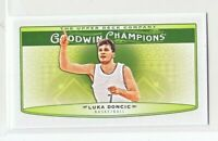2019 Upper Deck Goodwin Champions HORIZONTAL MINI Luka Doncic