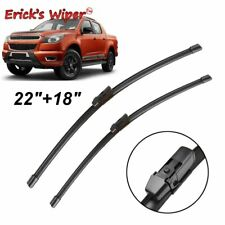 Front Wiper Blades For Holden Colorado RG Chevrolet S-10 2012 - 2017 22''18''