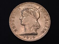 1915 Portugal One Silver Escudo