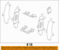 MAZDA OEM 13-18 CX-5 Front-Brake Pads Retainer Kit K0Y13329Z
