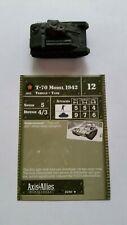 AXIS & ALLIES 1939-1945 T-70 Model 1942 x1