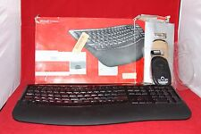 For Parts Only. Microsoft Wireless Comfort Desktop 5000, Curve Keyboard & Mouse.
