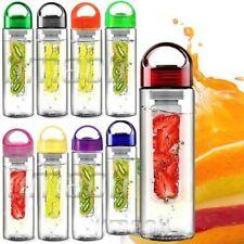 800ML Fruit Fuzer Infusing Water Case Bottle Sports Health Lemon Juice Maker UK