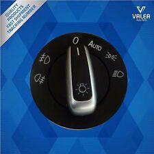 Cromo faros Control interruptor de botón Auto: 3C8941431A para VW Touran 2010-20
