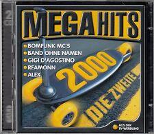 MEGAHITS 2000 - DIE ZWEITE / 2 CD-SET - TOP-ZUSTAND