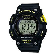 Casio Solar Digital Watch Stl-s300h-1b World Time 2 Timers WR 100m Express Post