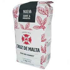 Y55 YERBA MATE CRUZ DE MALTA 1KG CON PALOS/WITH STEMS
