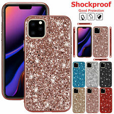 For  iPhone 11 Pro Xs 8 7 Plus 6s X Cover Bling Soft Rubber Slim Shockproof Case