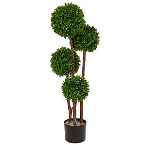 3 Boxwood Topiary Tree UV Resistant (Indoor/Outdoor)