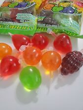 TIK-TOK CANDY 5 Piece Set Fruit Jelly FRUITY'S JU-C /Dely-Gely