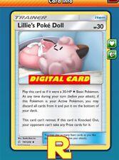 2x Lillie's Pokè Doll / Pokedoll - Pokemon TCG Online (ptcgo in Game Card)